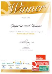 2010 Logan West Leader Fashion & Beauty Services Winner