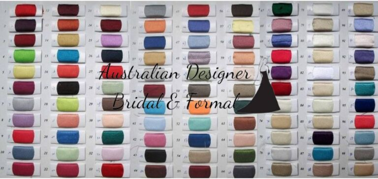Thick Bridal Satin Colour Swatch ADBF Logo